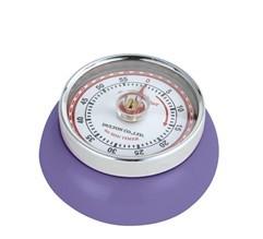 Zassenhaus Timer Speed kookwekker 7 cm metaal ultra violet