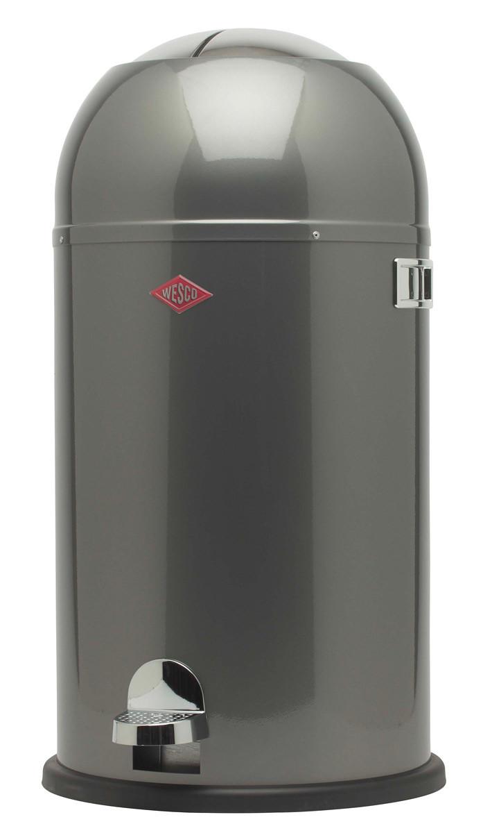 Wesco Kickmaster 33 Liter Bruin.Aanbieding Wesco Kickmaster Afvalemmer Rond 33 Liter Mint