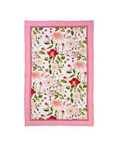 Ulster Weavers Traditional Rose theedoek linnen roze