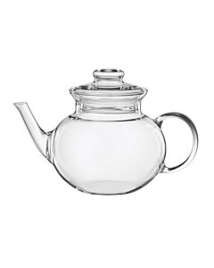 Oldenhof Eva theepot met schenktuit 1 liter glas