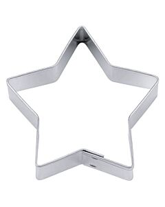 Städter uitsteekvorm 5-punts ster 9 cm rvs