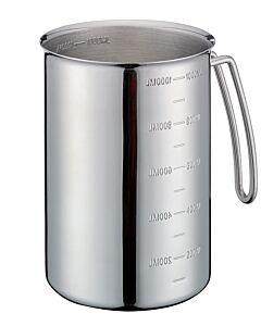 Küchenprofi maatbeker 1 liter rvs