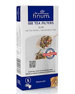 Finum theefilters maat S papier 100 stuks
