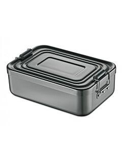 Küchenprofi lunchbox 18 x 12 cm aluminium antraciet