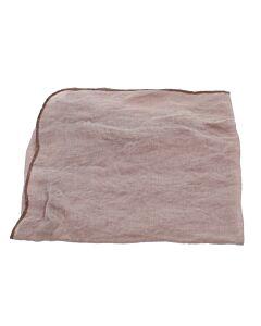 Broste Copenhagen Gracie servet 45 x 45 cm linnen roze