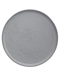 HK Living ontbijtbord rond ø 22 cm aardewerk wit
