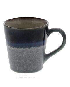 HK Living 70's espressomok 80 ml aardewerk blauw-grijs