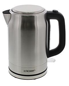 Cloer waterkoker 1,5 liter rvs