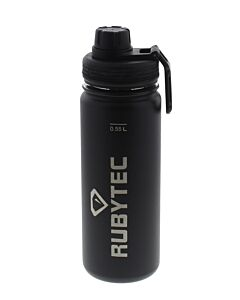 Rubytec Shira thermosdrinkfles 550 ml rvs mat zwart