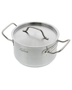 Inoxibar kookpan met deksel ø 18 cm 2,4 L
