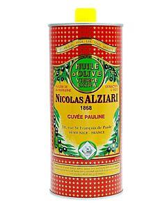 Nicolas Alziari olijfolie Cuvée Pauline blik 1 liter
