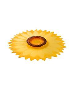 Charles Viancin Sunflower deksel ø 28 cm silicone geel