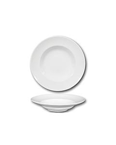 Oldenhof Napoli pastabord diep ø 26,5 cm aardewerk wit