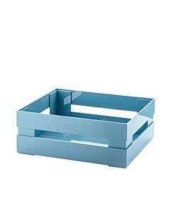 Guzzini Tidy & Store krat 30 x 22 cm kunststof lichtblauw