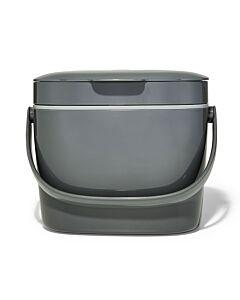 OXO Good Grips compostemmer 6,5 liter kunststof grijs