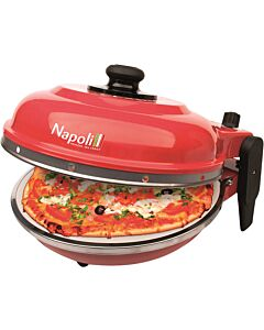 Optima Napoli pizzaoven 31 cm rood