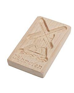 Oldenhof speculaasplank Wipmolen 24 cm hout
