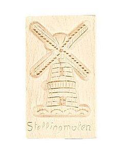 Oldenhof speculaasplank Stellingmolen 24 cm hout