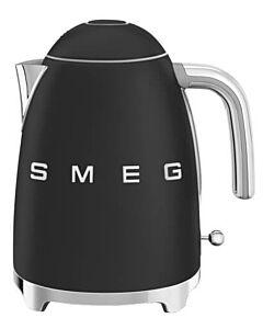Smeg 50's style waterkoker 1,7 liter mat zwart