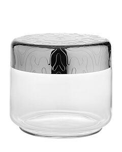 Alessi Dressed voorraadpot 500 ml rvs glas