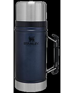 Stanley Classic vacuüm thermospot 940 ml donkerblauw