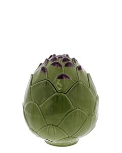 Oldenhof Artisjok bewaarpot ø 13 cm h 17 cm aardewerk groen
