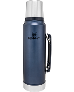 Stanley Classic thermosfles 1 liter donkerblauw