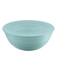 Guzzini Tierra XL schaal met deksel ø 30 cm kunststof Sage Green
