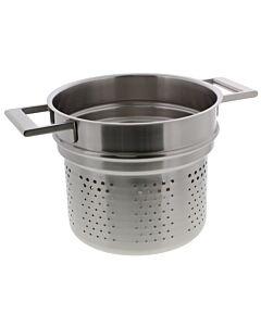 Cristel Strate pasta-inzet ø 22 cm rvs