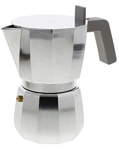 Alessi Moka David Chipperfield mokapot 6 kops aluminium