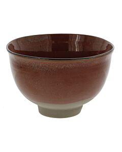 Serax Merci Meal X3 Kom no 2 large ø 15 cm aardewerk rood/bruin