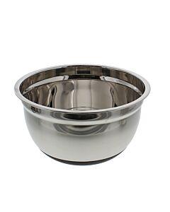 Küchenprofi antislip mengkom 4,8 L ø 24 cm rvs silicone