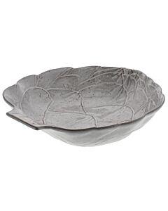 Oldenhof Artisjok pastakom 35,5 cm aardewerk bruin