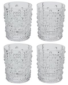 Nachtmann Punk whiskyglas 348 ml kristalglas 4 stuks