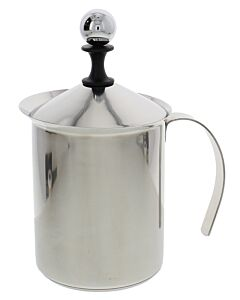 Forever Cappuccino Creamer melkschuimer 800 ml rvs glans