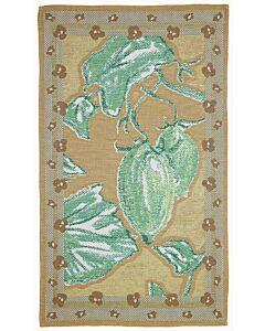 by TextielMuseum theedoek Kiki van Eijk - Botanica Pomodoro 87 x 50 cm groen