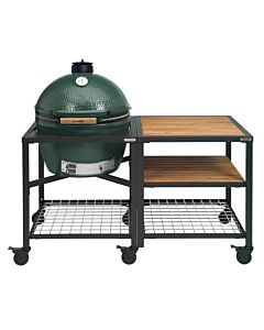 Big Green Egg Modular Outdoor Workspace compleet systeem Wood-Wood-Grid incl. XXL barbecue