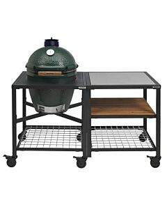 Big Green Egg Modular Outdoor Workspace compleet systeem SS-Wood-Grid incl. Large barbecue