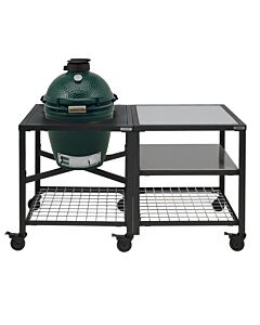 Big Green Egg Modular Outdoor Workspace compleet systeem SS-SS-Grid incl. Medium barbecue
