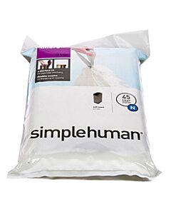 Simplehuman type N afvalzakken 20 stuks