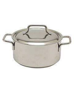 Demeyere Apollo kookpan met deksel ø 18 cm rvs