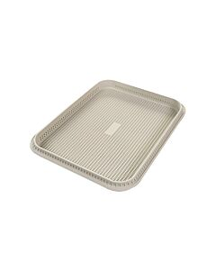 Silikomart Focaccia broodbakvorm 34,5 x 26,5 cm silicone grijs