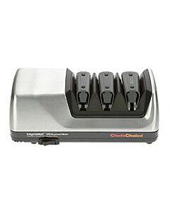 Chef's Choice 120 drietraps elektrische messenslijper rvs mat