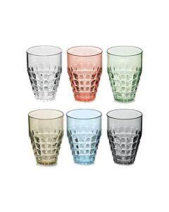Guzzini Tiffany tumbler 510 ml kunststof diverse kleuren 6-delig