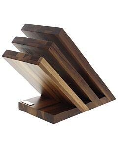 Artelegno Venezia magnetisch messenblok 28 cm walnoothout