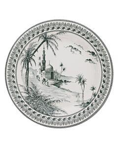 Gien Vue Orient dinerbord ø 27,5 cm keramiek crème