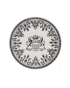 Gien Blason dessertbord ø 22 cm keramiek crème