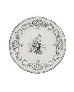 Gien Oiseau dessertbord ø 22 cm keramiek crème