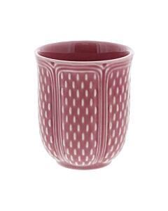 Gien Pont aux Choux theebeker 27 cl keramiek donker roze