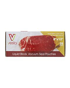 Vesta vacuümzakken liquid block 20,3 x 30,5 cm 25 stuks